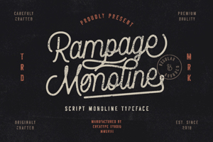 Rampage Monoline Rounded
