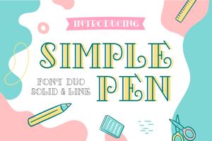 Simple Pen Solid