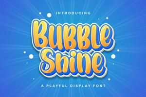 Bubble Shine