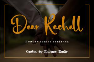 Dear Rachell