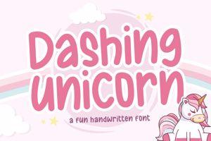 Dashing Unicorn