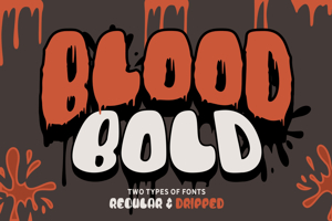 Blood Bold Driped