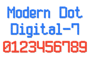 Modern Dot Digital-7