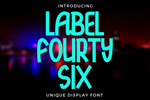 Label Fourty Six