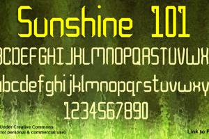 Sunshine 101