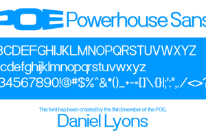 Powerhouse Sans