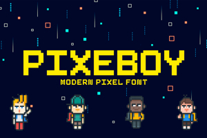 Pixeboy