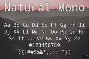 Natural Mono