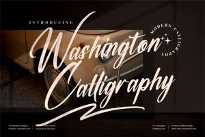 Washington Calligraphy