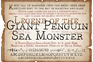 Legend of the Giant Penguin Sea