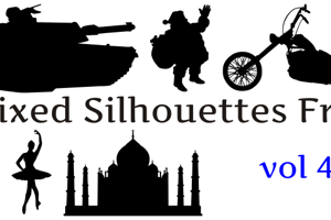 Mixed Silhouettes Free vol 3