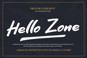 Hello Zone