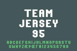 Team Jersey 95