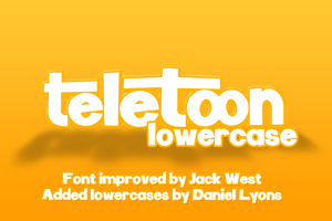 Teletoon Lowercase