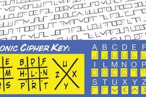 Illuminati Masonic Cipher
