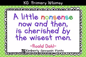 KG Primary Whimsy