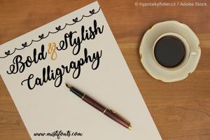 Bold  Stylish Calligraphy