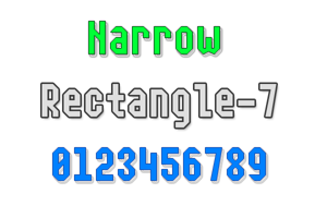 Narrow Rectangle-7