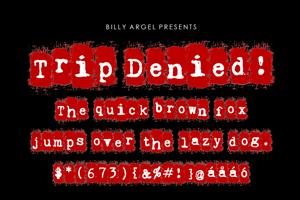 Trip Denied