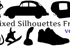 Mixed Silhouettes Free vol 2