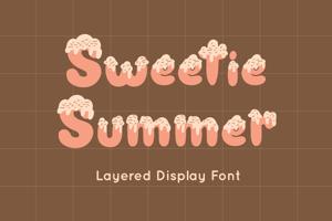 Sweetie Summer Display