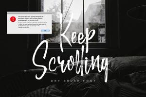 Keep Scrolling