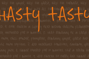 DK Hasty Tasty