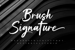 Brush Signature