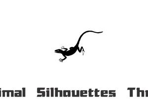 Animal Silhouettes Three