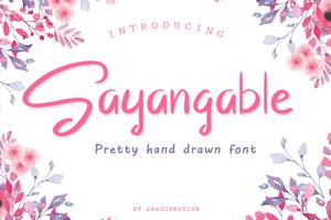 Sayangable