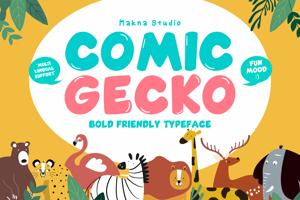 Comic Gecko