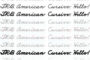 FRB American Cursive