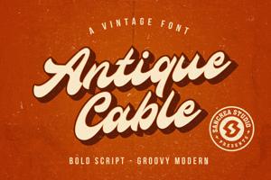 Antique Cable