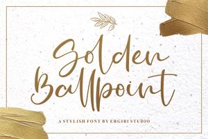 Golden Ballpoint
