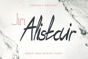 Jim Alistair Serif