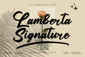 Lamberta Signature