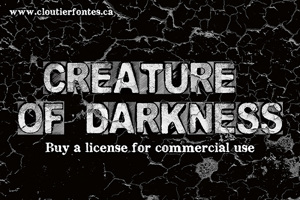 CF Creature of Darkness