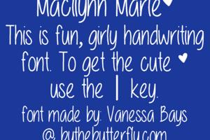 Macilynn Marie