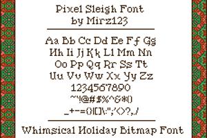 Pixel Sleigh