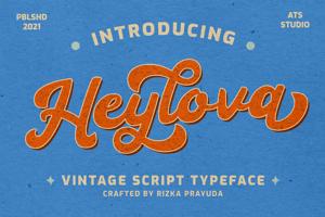 Heylova Script