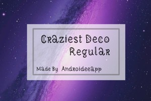 Craziest Deco Regular