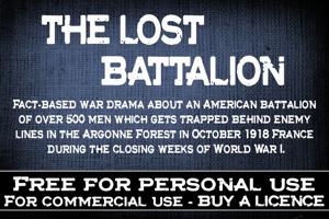 CF The lost battalion