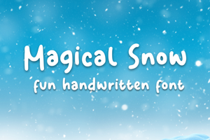 Magical Snow
