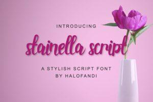 Stainella Script