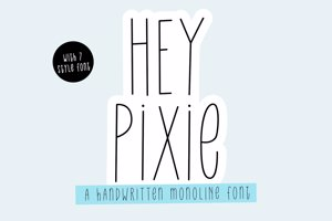 Hey Pixie Bold _ PERSONALUSE