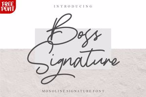 Boss Signature