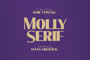 Molly Serif Expanded