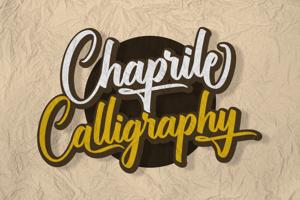 Chaprile Calligraphy