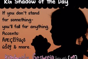 KG Shadow of the Day