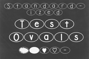 DJB Standardized Test Oval